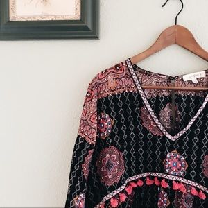 BOHO Dress Brand Umgee SZ 1XL Woman's Fall